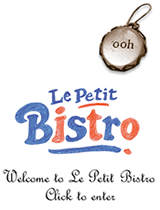 Welcome to Le Petit Bistro - Click to enter